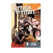 Attack on Titan 8 Paperback