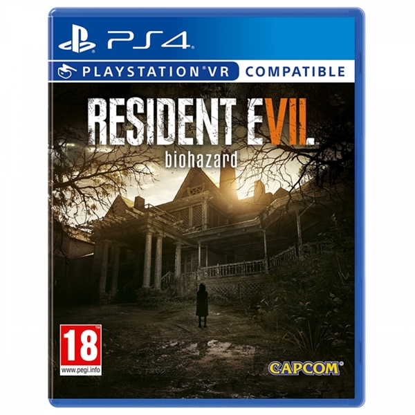 Resident Evil 7 Biohazard PS4 Game (PSVR Compatible)