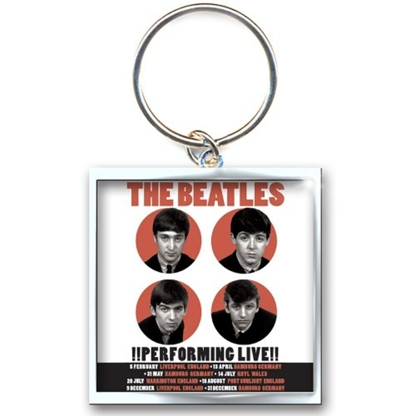 The Beatles - 1962 Performing Live Keychain