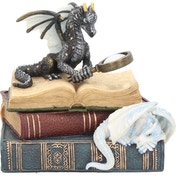 Miniature Scholars Dragon Trinket Box