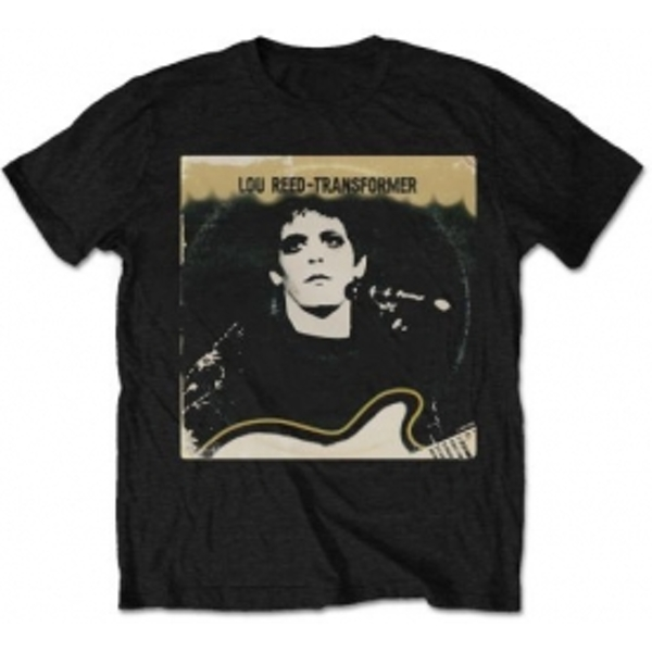 Lou Reed Transformer Vintage Cover Mens Black T Shirt: X Lar