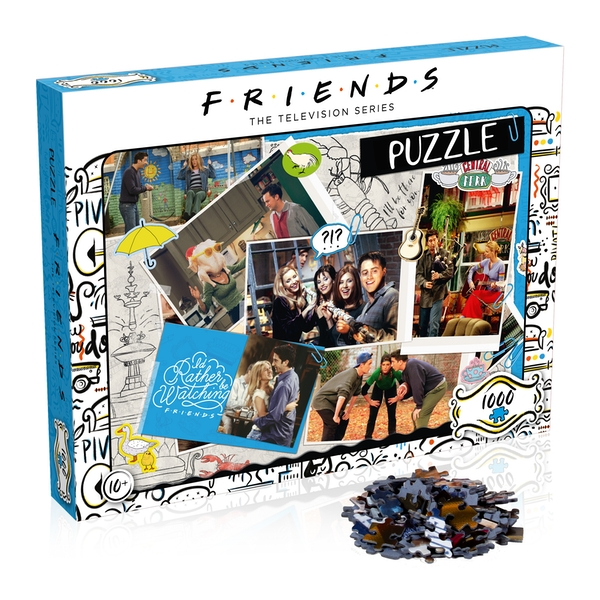 Friends Scrapbook Jigsaw Puzzle - 1000 Pieces