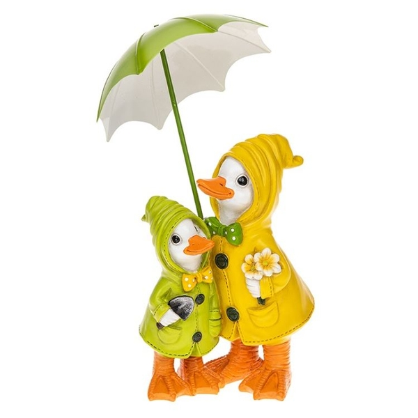 Puddle Duck Mum & Baby Brolly Ornament