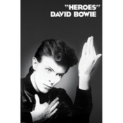 David Bowie - Heroes Maxi Poster