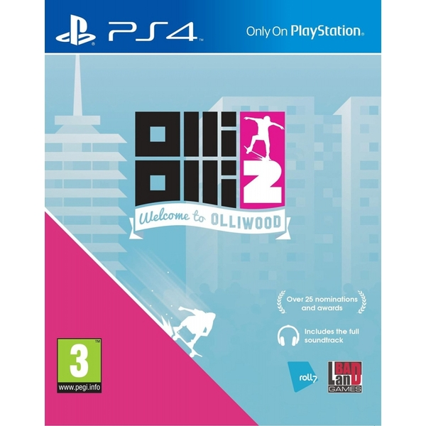OlliOlli2 Welcome to Olliwood PS4 Game