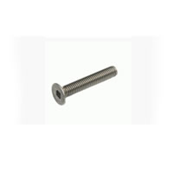 Hobao Titanium 3 X 10Mm Hex Flat Head Screw (10)