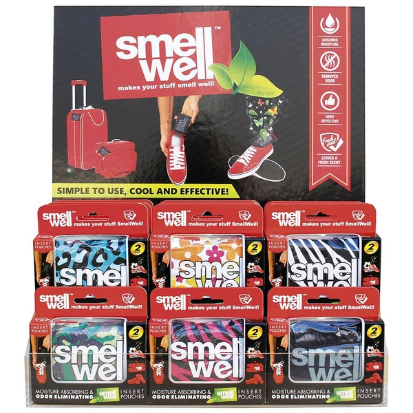 Smell Well Pouches (Pack of 2) Black