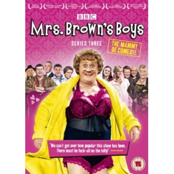 Mrs Browns Boys Series 3 DVD