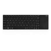 Rapoo E2710 2.4GHz Wireless Ultra-slim Multimedia Keyboard Black UK Layout