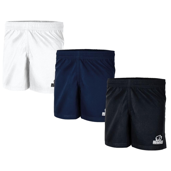 Rhino Auckland R/Shorts Adult Black - Large