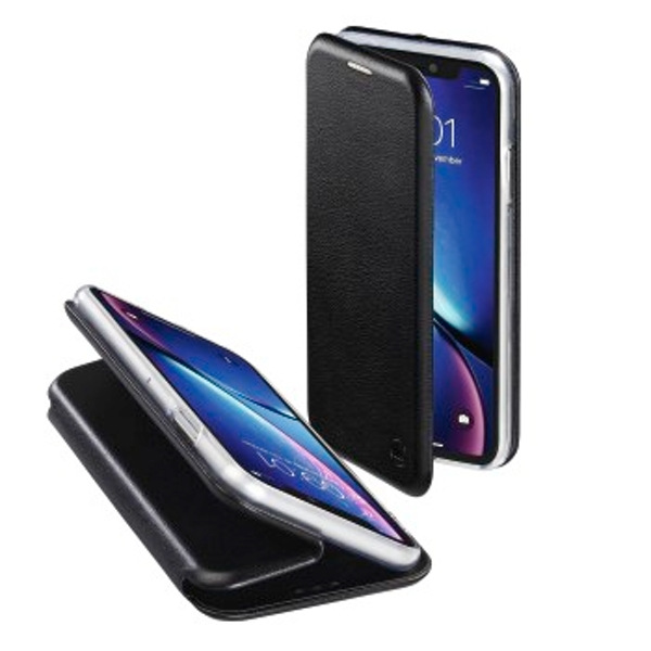 Hama Curve mobile phone case Folio Black - Cases for mobile phones (Folio, Apple, iPhone XS, Black)