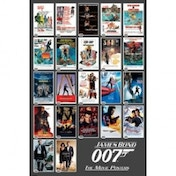 James Bond - 22 Movie Posters Maxi Poster