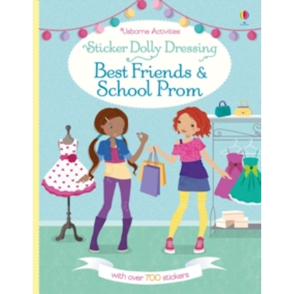 Sticker Dolly Dressing Best Friends and School Prom