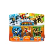 Sonic Boom, Sprocket, and Stump Smash (Skylanders Giants) Triple Character Figure Pack C