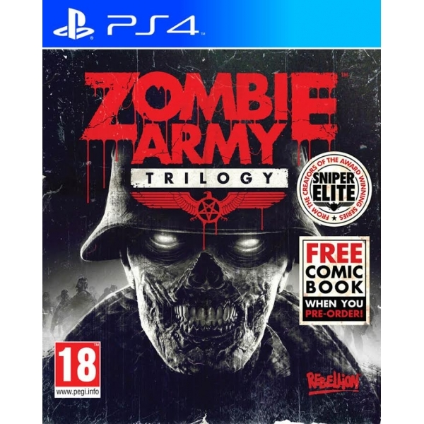 Zombie Army Trilogy PS4 Game (with Exclusive Zombie Army Comic)