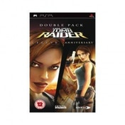 Ex-Display Lara Croft Tomb Raider Double Pack Anniversary & Legend Game PSP Used - Like New