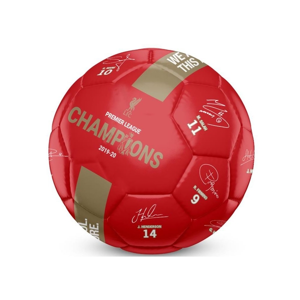 Liverpool Champions 19 20 Signature Ball Size 5