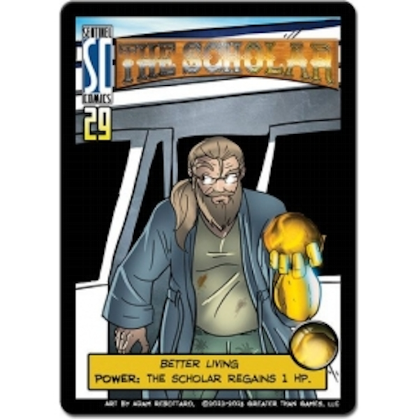 Sentinels of the Multiverse The Scholar Hero Character