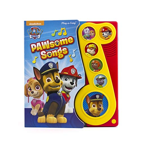 PAW Patrol - Pawsome Songs - Little Music Note by Phoenix International, Inc (Hardback, 2016)