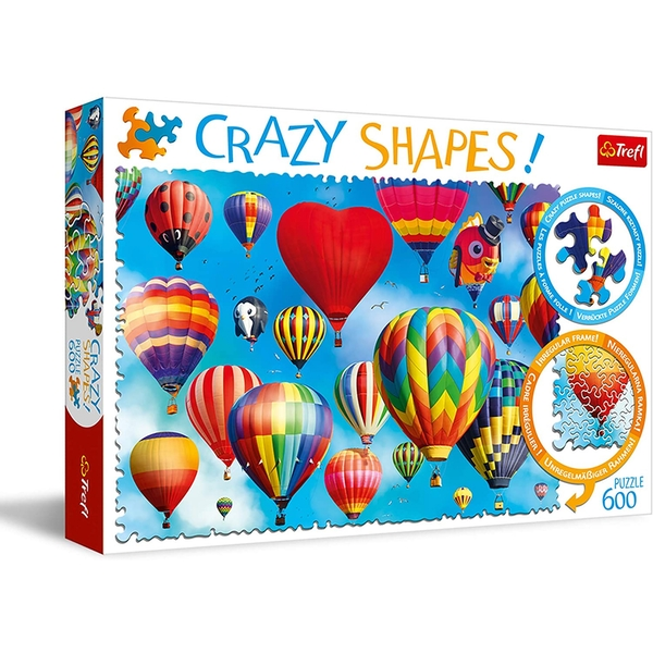 Colourful Balloons Jigsaw Puzzle - 600 Pieces