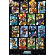 Skylanders Swap Force Swapable Characters Maxi Poster