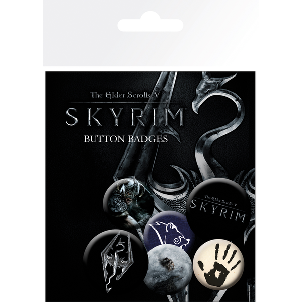 Skyrim Mix Badge Pack