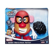 Ex-Display Mr Potato Head Classic Scale Marvel Spider-Man & Peter Parker Used - Like New