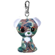 Lumo Stars Mini Keyring - Bear Camo Plush Toy