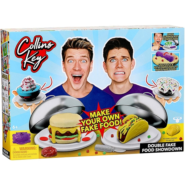 Collins Key Double Fake Food Showdown Game