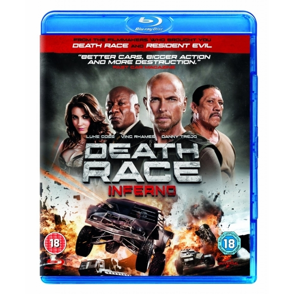 Death Race: Inferno Blu-ray
