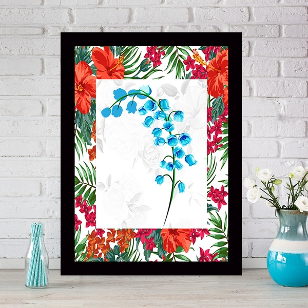 SCZ56698251713 Multicolor Decorative Framed MDF Painting