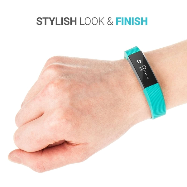 Yousave Fitbit Alta / Alta HR Strap Single Small - Grey - Image 2