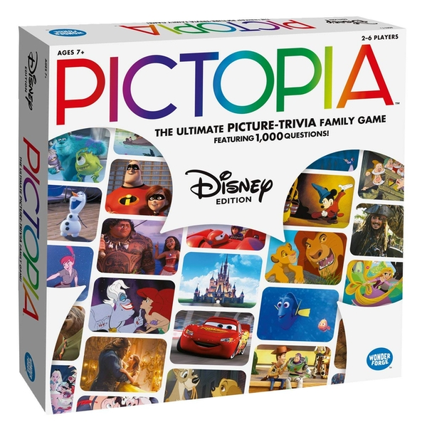 Ravensburger Disney Pictopia The Picture Trivia Game - Image 1