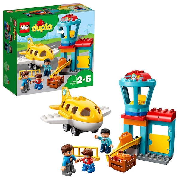 Lego Duplo - My Town Airport and Airplane (10871) [Damaged Packaging]