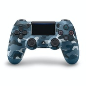 New Sony Dualshock 4 V2 Blue Camo Controller PS4