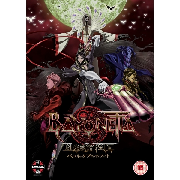 Bayonetta The Movie Bloody Fate Blu-ray