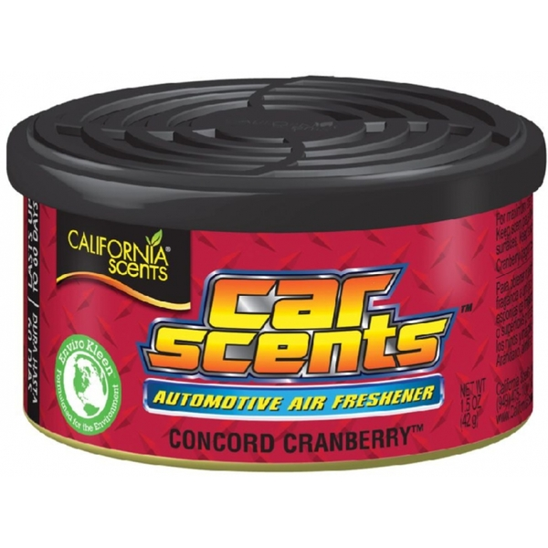 California Scents Concord Cranberry Car/Home Air Freshener