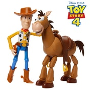 Disney Pixar Toy Story 4 7 inch Woody & Bullseye Gift Pack - Damaged Packaging