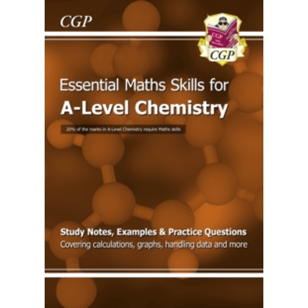 New A-Level Chemistry: Essential Maths Skills by CGP Books (Paperback, 2015)