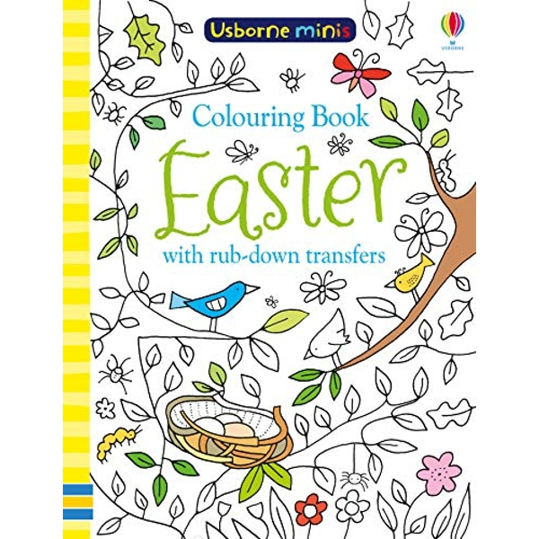 Colouring Book Easter with Rub Downs  Paperback / softback 2019