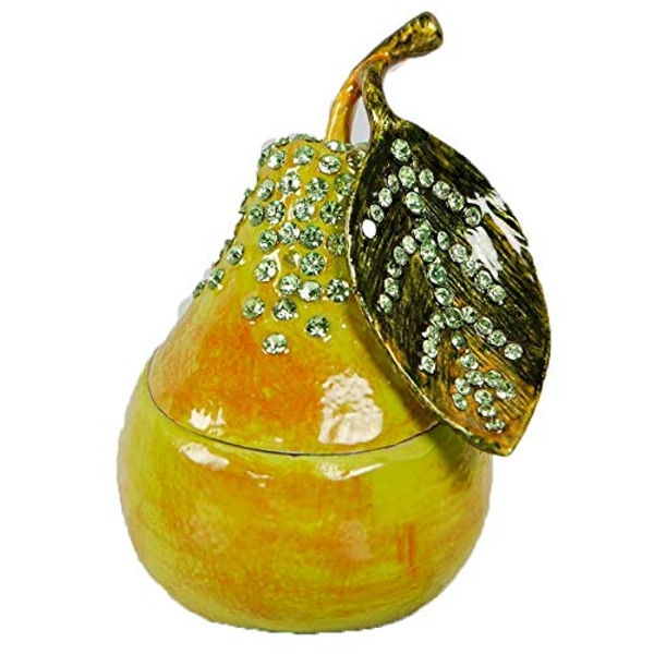 Treasured Trinkets - Green Pear