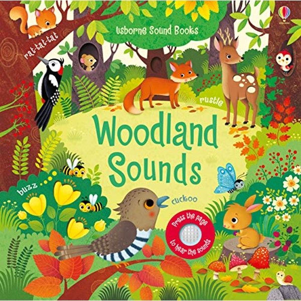 Woodland Sounds  Board book 2018