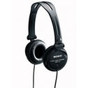 Sony MDR-V150 Headphones with Reversible Housing for DJ Monitoring - Black