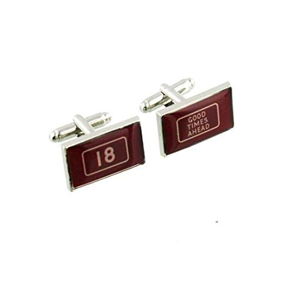 MPH Cufflinks - 18th Birthday