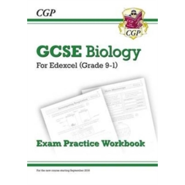 New Grade 9-1 GCSE Biology: Edexcel Exam Practice Workbook by CGP Books (Paperback, 2016)