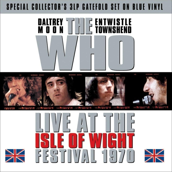 Who - Isle Of Wight Festival 1970 Blue  Vinyl