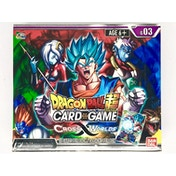 Dragonball Super Card Game: Cross Worlds Booster Box (24 Packs)