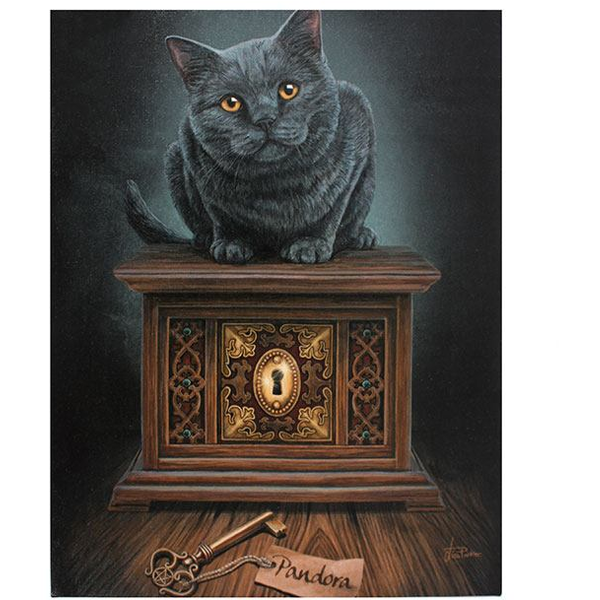 Small Pandora's Box Canvas Picture by Lisa Parker