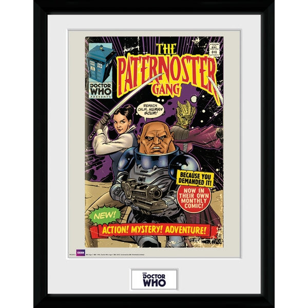 Doctor Who Pasternoster Framed Collector Print