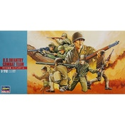 Hasegawa 1:72 WW2 US Soldiers 24 Figures